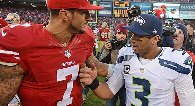 The 49ers won this round, but the Seahawks still have home field working for them. (USATSI)