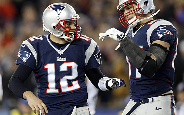Can Tom Brady get the Patriots through the playoffs without Rob Gronkowski? (USATSI)