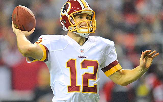 With the Redskins in need of draft picks, Kirk Cousins will likely be trade bait.  (USATSI)