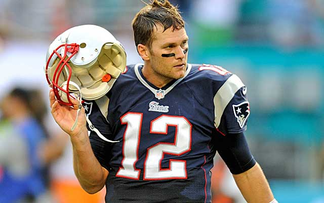 Tom Brady certainly misses his biggest target in a tough loss to the Dolphins.    (USATSI)