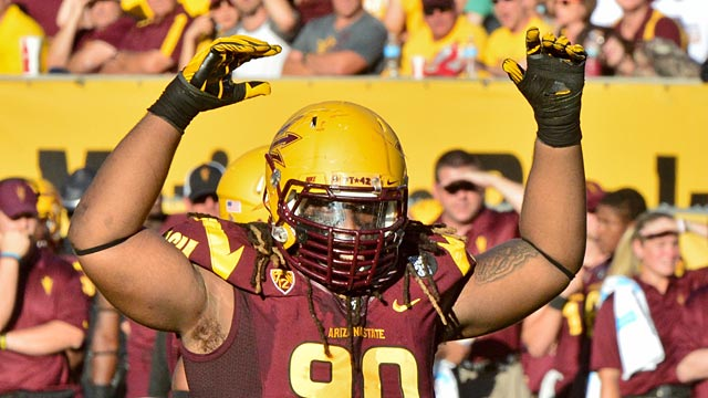 Arizona State's Will Sutton greatly raised his draft profile with another big season. (USATSI)