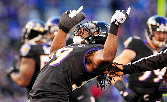 Dannell Ellerbe and the Ravens defied the odds with a cold December before a championship run. (USATSI)