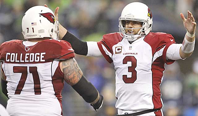 One of Steve Keim's moves was signing rejuvenated QB Carson Palmer. (USATSI)