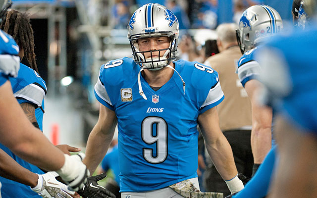 Matthew Stafford's big numbers -- including three straight 4,000-yard seasons -- are suspect. (USATSI)