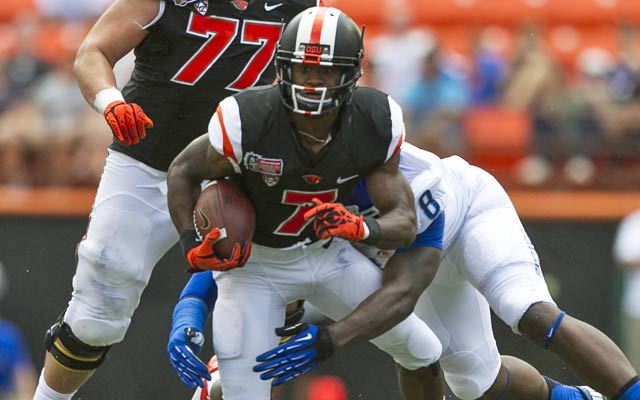 Brandin Cooks showed up in a big way against Boise State in the Hawaii Bowl. (USATSI)
