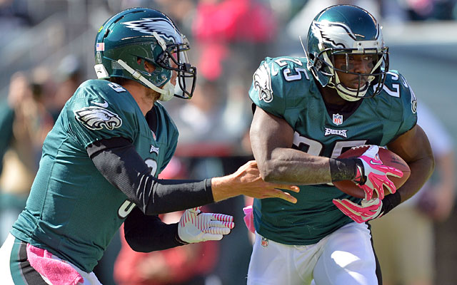 Nick Foles and LeSean McCoy, shut down vs. Dallas earlier this season, are on quite a run. (USATSI)