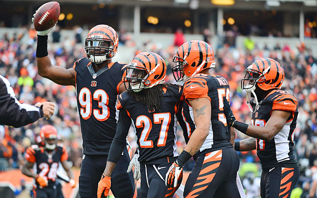 An attacking, ball-hawking defense makes the Bengals a real threat in the playoffs this season. (USATSI)