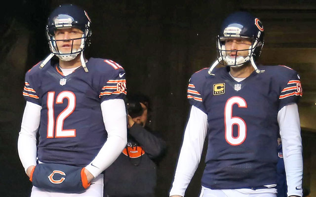 While the Bears fell short of the playoffs, Josh McCown proved his value as backup to Jay Cutler. (USATSI)