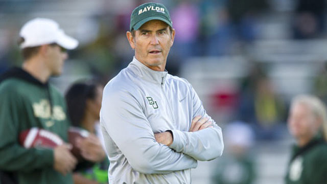 Art Briles' impressive record includes a stunning 11 wins this season at Baylor. (Getty Images)