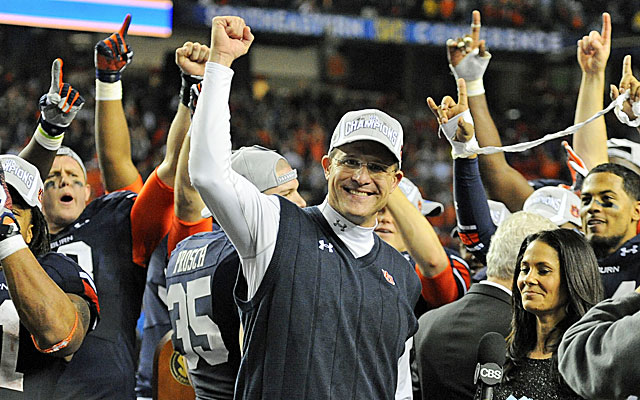Auburn's Gus Malzahn has apparently caught the eye of the Cleveland Browns. (USATSI)