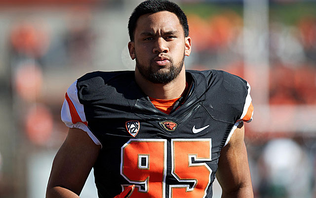 Defensive end Scott Crichton had 7.5 sacks at Oregon State this season. (USATSI)