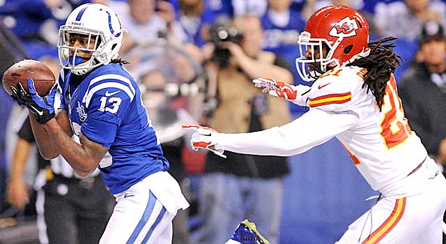 The Chiefs had no answers for T.Y. Hilton. They're not alone. (USATSI)
