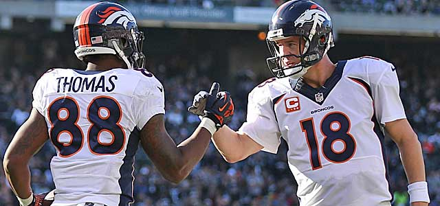 With Peyton Manning at the wheel, Denver runs more no-huddle than anyone. (USATSI)