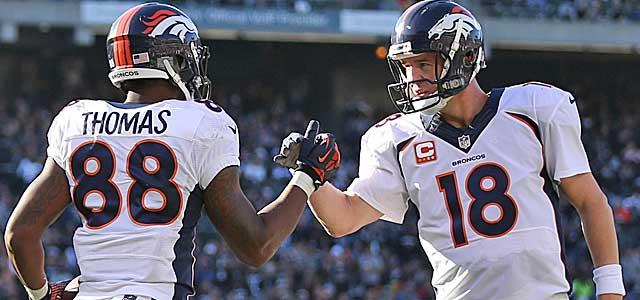 With Peyton Manning at the wheel, Denver runs more no-huddle than anyone. (USATSI)