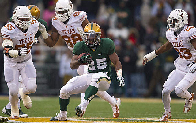 Lache Seastrunk of Baylor will be one of the top running backs taken in the draft. (USATSI)
