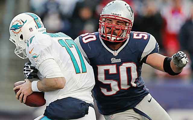 Rob Ninkovich has latched on in New England after stints in New Orleans and Miami.  (USATSI)