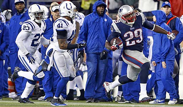 LeGarrette Blount (remember him?) torches the Colts, reminds us running is important. (USATSI)