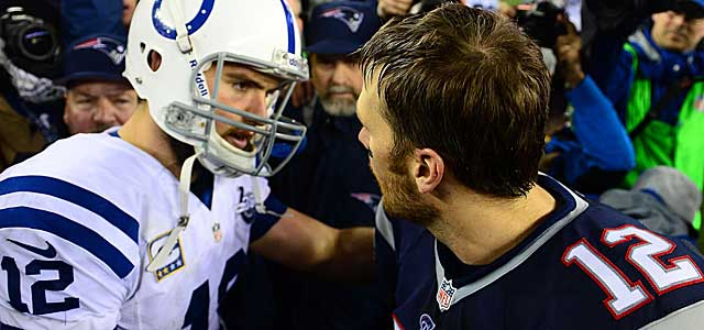 Andrew Luck comes up short vs. Tom Brady, but where would the Colts be without him? (USATSI)