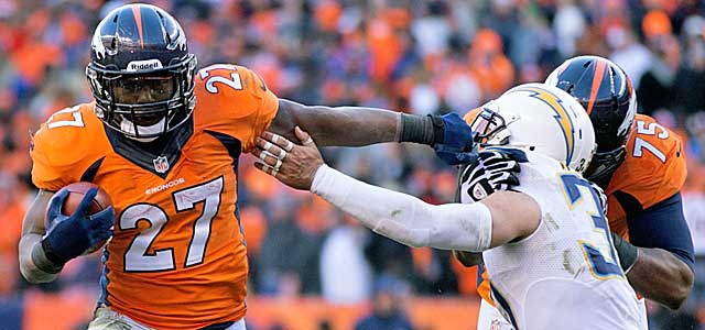 Maybe Knowshon Moreno has room to run because Peyton Manning can throw it. (USATSI)