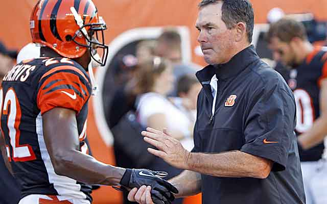 Mike Zimmer has always had the utmost respect from this players.   (USATSI)