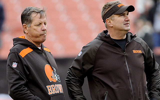 Norv Turner and Rob Chudzinski didn't last long in Cleveland. (USATSI)
