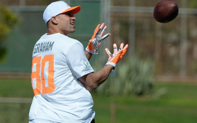 Jimmy Graham makes it clear he wants no part of a franchise tag. (USATSI)