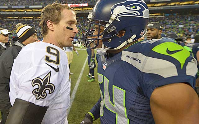 Bobby Wagner and Seattle's top-ranked D sent Drew Brees' high-powered offense packing. (USATSI)