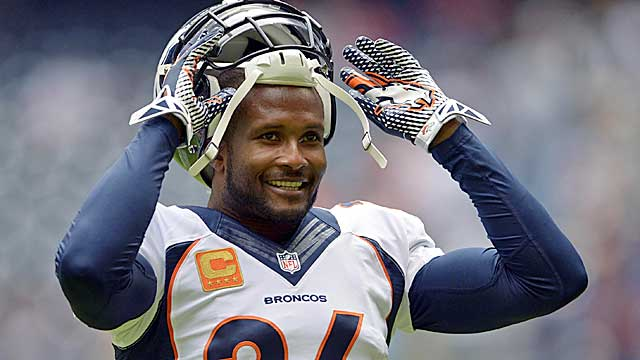 Champ Bailey is finally in a Super Bowl -- after 15 seasons.(USATSI)