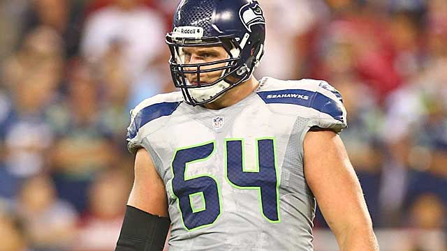 J.R. Sweezy used to play on the other side of the line.(USATSI)