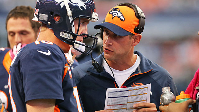 Gase and Peyton Manning have found much in common in regard to preparation. (USATSI)