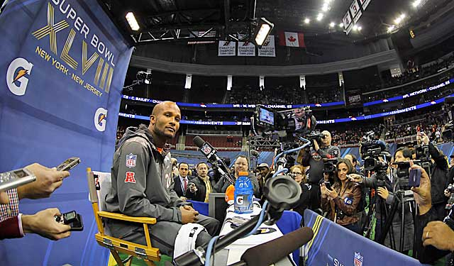 Was Tuesday's Media Day the first and last for Champ Bailey? (USATSI)