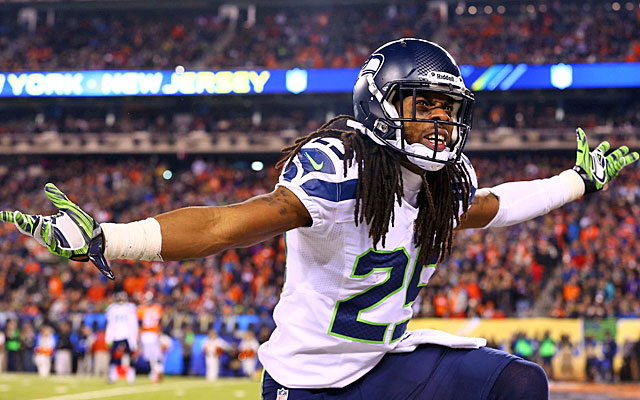 Richard Sherman points out that Seattle's defense is great at all three levels, not just the DBs. (USATSI)