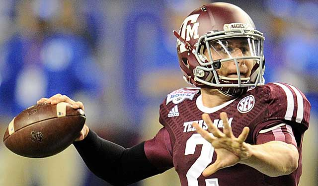 Johnny Manziel is a national phenomenon, and a legend in the state of Texas. (USATSI)
