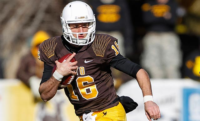 Brett Smith will go to the NFL as he did to Wyoming as an underrated prospect. (USATSI)