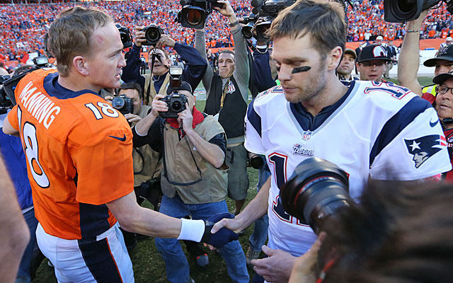 Peyton Manning and Tom Brady total about $35M in salary; one MLB ace tops $30M per season. (USATSI)