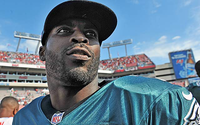 After five seasons with Philly, Michael Vick apparently will apparently be looking for a new team.   (Getty Images)