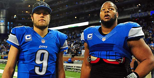 Matthew Stafford's deal impacts the Lions' ability to keep effectively keep Ndamakong Suh. (USATSI)