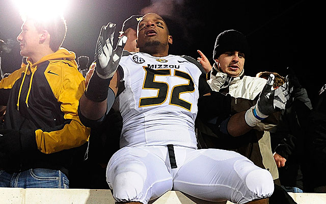 Michael Sam's sexuality was a non-issue when he told Missouri teammates last year. (Getty)