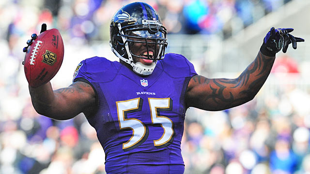 Suggs has become the face of the franchise after the departures of Ray Lewis and Ed Reed. (USATSI)