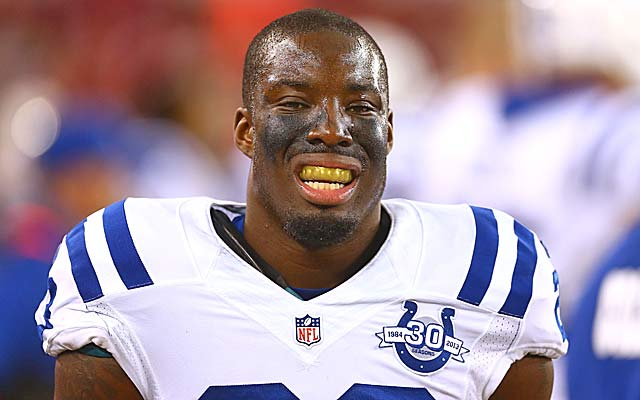 Vontae Davis could wind up getting tagged by the Colts.  (USATSI)