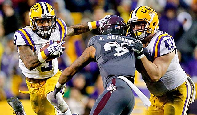 huge selection of 80d13 bff3d Nurtured to be a star, LSU's Beckham set to make childhood ...