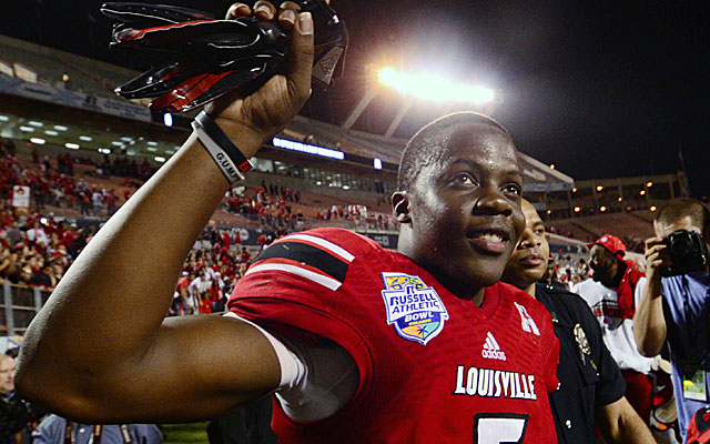Teddy Bridgewater hasn't committed to throw at the NFL combine. (USATSI)