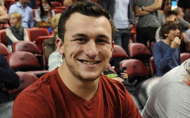 Johnny Manziel has impressed 49ers coach Jim Harbaugh. (USATSI)