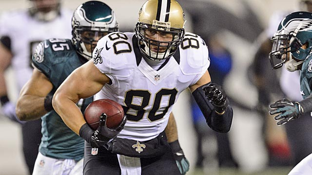 The Saints have made it possible that Jimmy Graham won't play for them in 2014. (USATSI)