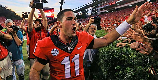 Dawgs fans weren't the only folks enamored with UGA QB Aaron Murray. (USATSI)