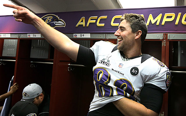 The timing of a deal with Dennis Pitta could be linked to issues with his franchise tag. (USATSI)