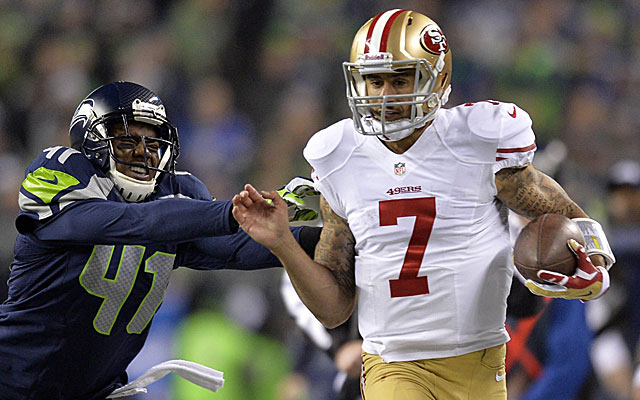 Colin Kaepernick could command an Aaron Rodgers-Drew Brees type contract. (USATSI)