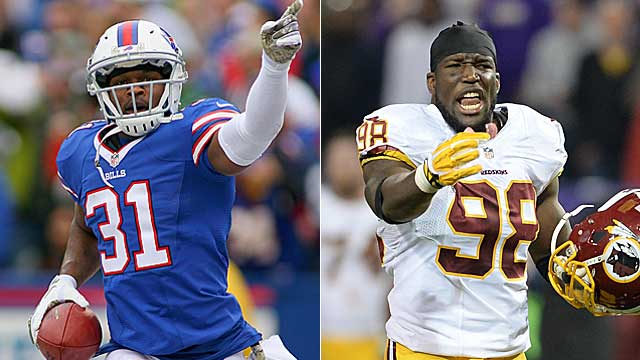 Jarius Byrd and Brian Orakpo figure to draw plenty of free-agency interest. (USATSI)