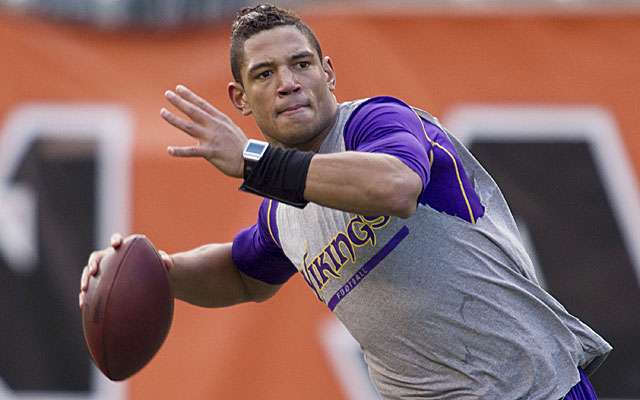 Former first-round pick Josh Freeman could be a fit in Oakland. (USATSI)