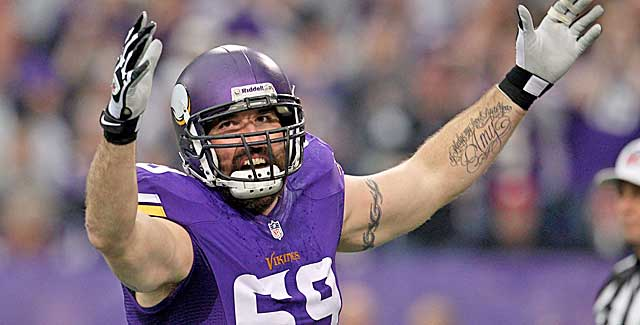 Jared Allen looks to join a contender as he tests free agency for the first time. (USATSI)